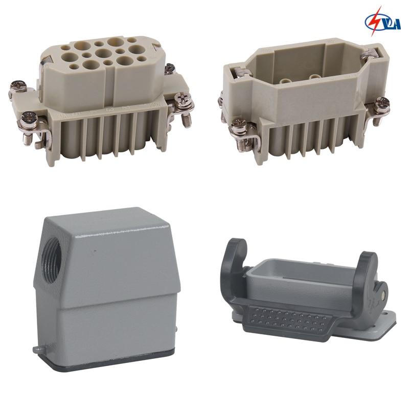 HD-015 Polycarbonate crimp terminal China price 15pin heavy duty connector 10A дырокол deli heavy duty e0130