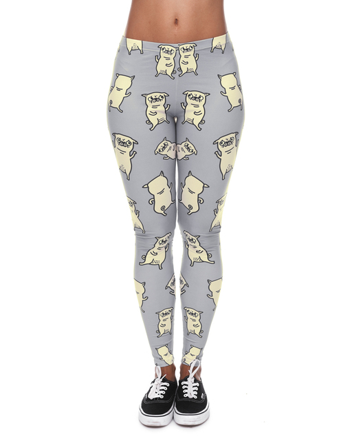 3D Printed Leggings with Cute Cartoons