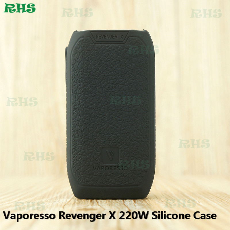 10pcs lot Factory Direct Sale Product of Silicone Case Cover Skin Sleeve Decal For Vaporesso Revenger