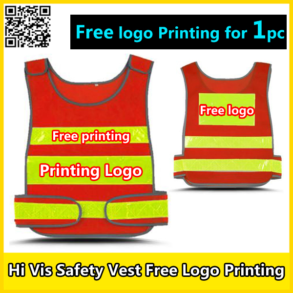 Spardwear Hi Vis Vest Free Company Logo Printing Safety