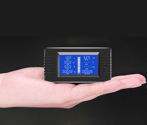 Image 5 - Dykb Dc Combo Meter Batterij Monitor Voltage Spanning Capaciteit Interne Weerstand/Soc/Tijd/Impedantie Tester Volt amp
