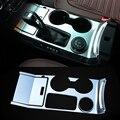 2016 Car Styling 3 pçs/set ABS Caixa de Velocidades Moldura Decorativa Lantejoulas Decoração Interna Da Tampa Para Ford Explorer 2013-2016