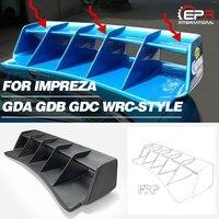Car styling For Impreza GDA GDB GDC WRC Style FRP Fiber Glass Rear Spoiler Fiberglass Trunk Wing Trim Tuning Body Kit Part