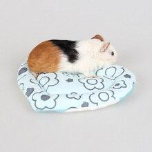 1 шт симпатичная форма сердца устойчивое к царапинам маленькое животное клетка кролика морская свинка, хомяк беличий домик клетка-гнездо коврик игрушка