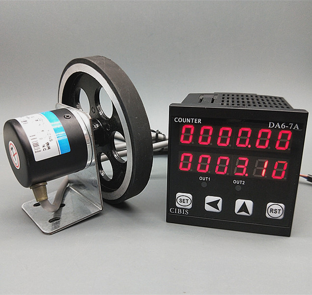 Roller Electronic Meter Length Measurement Control Meter Cloth Checker Meter