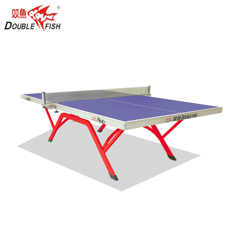 Premium Double Fish Professional Single Folding Movable Table Tennis Table For Competitons LITTLE Volant Wing