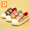 New 2017 Kids Lovely Flowers Lace Shoes Girls Sports Casual Children Running Princess Shoes Girls Sneakers Boots Canvas Footwear