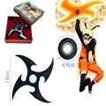 Colar de Anime Naruto Naruto Sasuke shuriken dardo faca fivela de liga de zinco não terno jogos de naruto