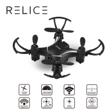 QD-701 Mini Drones RC Altitude Hold One Key Return Quadcopter HD 0.3MP Camera 2.4G 6-Axis Remote Control