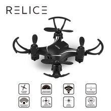 QD-701 Mini Drones RC Altitude Hold One Key Return Quadcopter HD 0.3MP Camera 2.