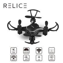 Relice QD-701 Mini дроны RC Quadcopter Дрон с Камера 2.4 г 6-оси вертолет Дроны с Камера HD 0.3MP мини Радиоуправляемый Дрон