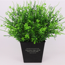 36cm 5 forks Mini Dwarf Pearl Grass Water Aquatic Plant Moss Aquarium artificial flowers