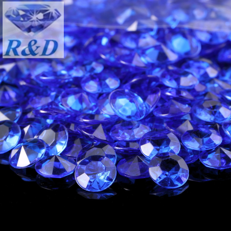 1 Ct Diamant Confetti Mariage Table De Fête Disperser Faux Bijoux Strass Lot
