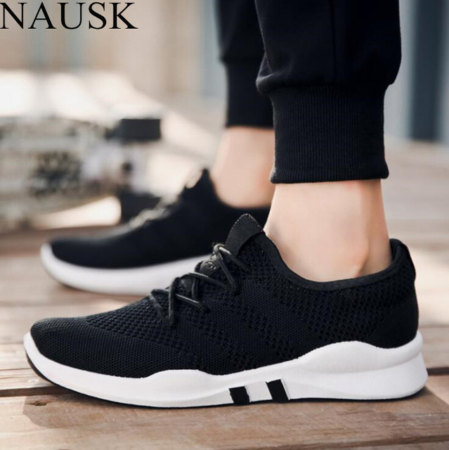 985936cacf7 NAUSK Spring and Summer Popular Men Fashion Casual Shoes Breathable Male  2018 Sneakers Adult Non-slip Comfortable Footwear