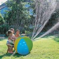 Children's Summer Outdoor Swimming Beach Pool Inflatable Spray Water Ball piscina Play The Lawn Balls zwembad Party Playing Toys