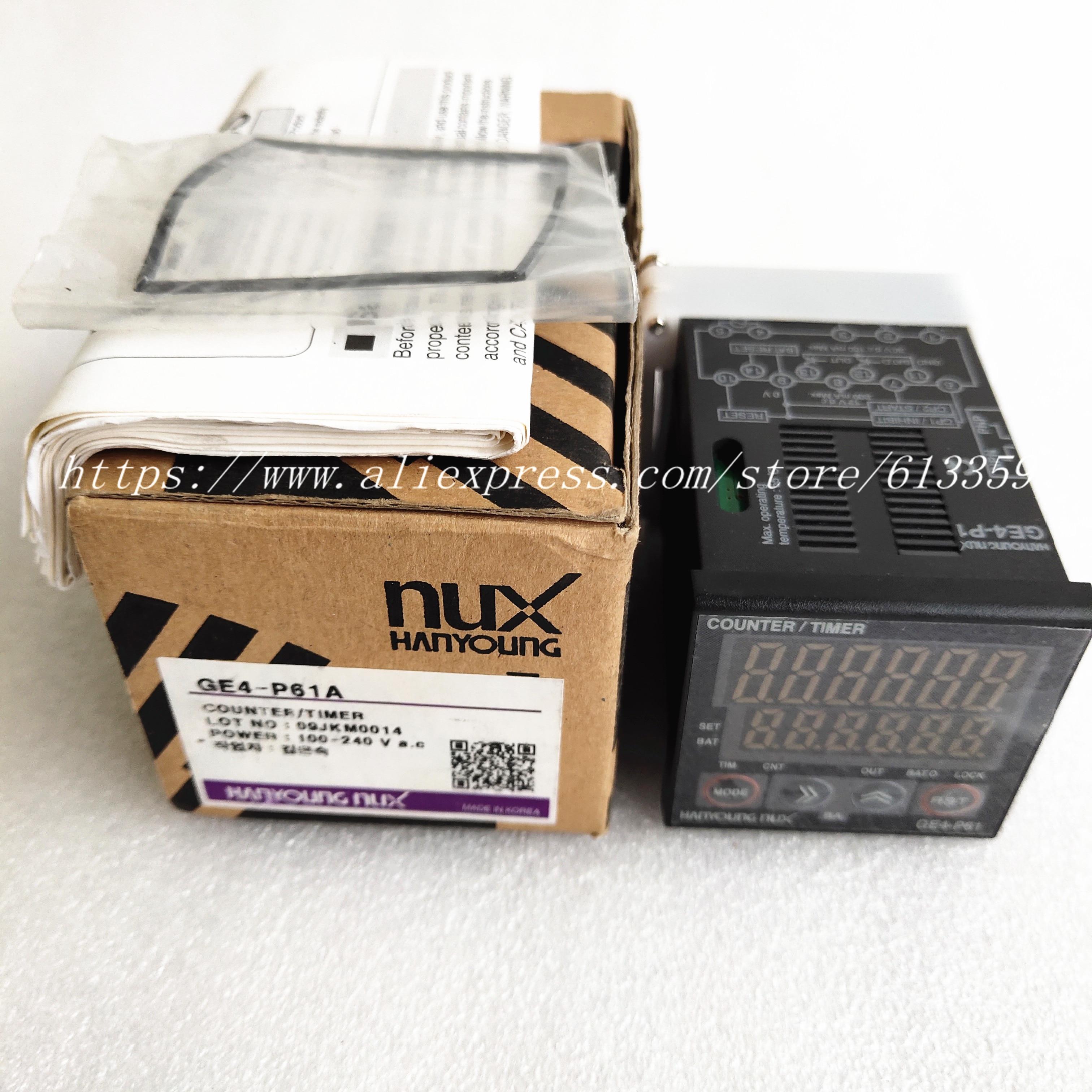 GE4 P61A GE4 P41A GE6 P61A GE6 P41A GE4 T6A HanyoungNux Counter Timer 100 New Original
