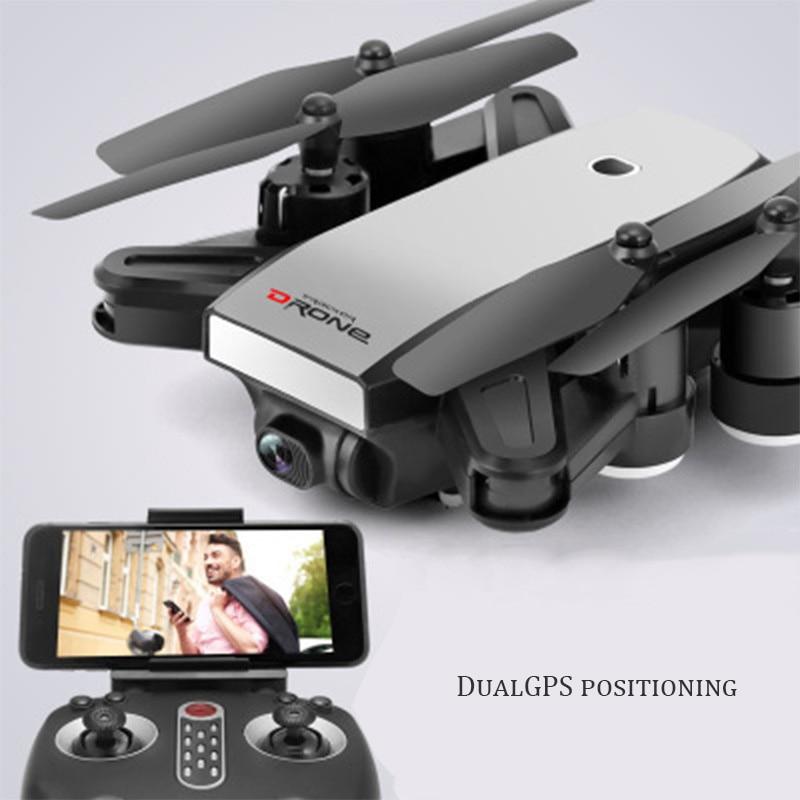 Drone LX-28 WIFI FPV avec caméra 2MP HD couleur blanche avec GPS couleur verte sans GPS Mode de maintien élevé Drone quadrirotor RC bras pliable
