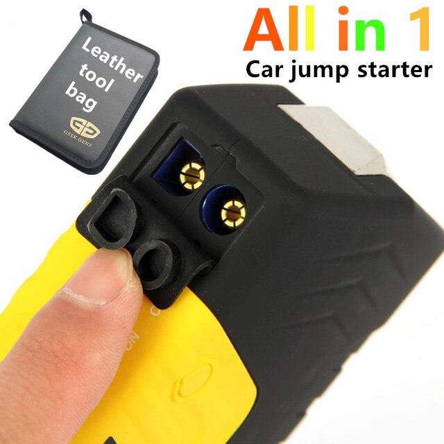 Powerful car jump starter power bank 12v emergency car battery booster Multi-function car starter EU UK AU US plugs