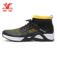 XIANG GUAN Running Shoes Mens Athletic Outdoor Sneakers Black Comfortable Sport Shoes Male Walking Footwear Size Eur 39-45