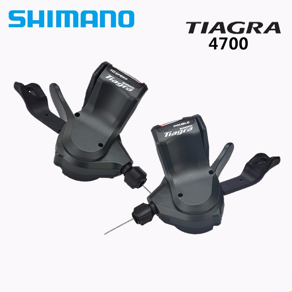 SHIMANO <font><b>TIAGRA</b></font> 4700 4600 2*10s flat bar Bicycle bike shifter image