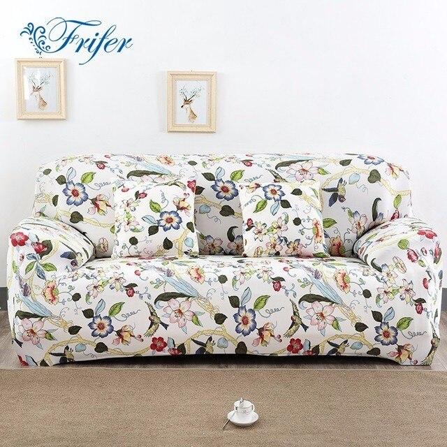 Estiramiento elástico Cubiertas para el sofá elasticidad impreso ...
