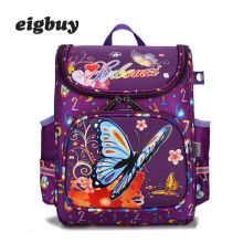 Children school Bags For Girls Kids Butterfly Schoolbag Backpack Eva Folded Orthopedic School Boys And