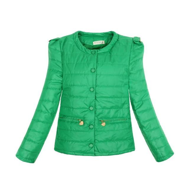 4 Cores Quentes de Inverno Mulheres Jaqueta de 2016 Nova Moda Slim Fina O Pescoço Senhoras Parkas Sobretudo Casaco Plus Size XXL