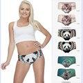 2017 gatos 3d de impresión 18 diseños sexy panties underwear mujeres moda de alta calidad de nueva marca sexy underwear escritos inconsútiles py227