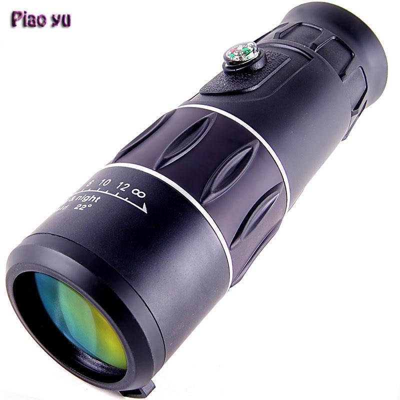 10X40 High quality high magnification Monocular Telescope Zoom Optic Lens Binoculars Spotting scope Coating Lenses Dual Focus  цены