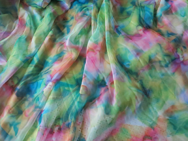 Aliexpress.com : Buy 2m/lot Light Chiffon Sheer Fabric For Beach Dress  Scarfs Green Floral Print Chiffon Tissue Material From Reliable Fabric Soft  Suppliers ...