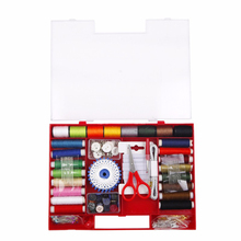 Multi-function Sewing Kits Set for Quilting Stitching Hand Sewing Needle Threads Scissor Thimble Home Sewing Tools Box