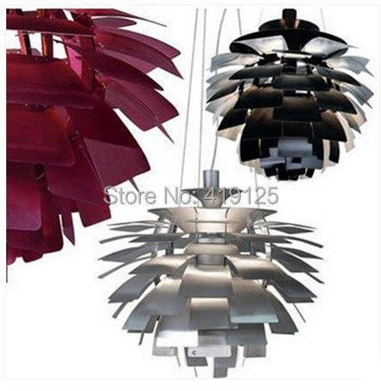 Free Shipping Lighting Fixture Louis Poulsen PH Artichoke Pendant Lamp White Denmark Modern Suspension Pendant Lights