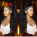 Kinky Curly Lace Front Wigs Alice 9A Brazilian Curly Lace Wig  Upart Wig Brazilian Full Lace Wigs With Baby Hair For Black Woman