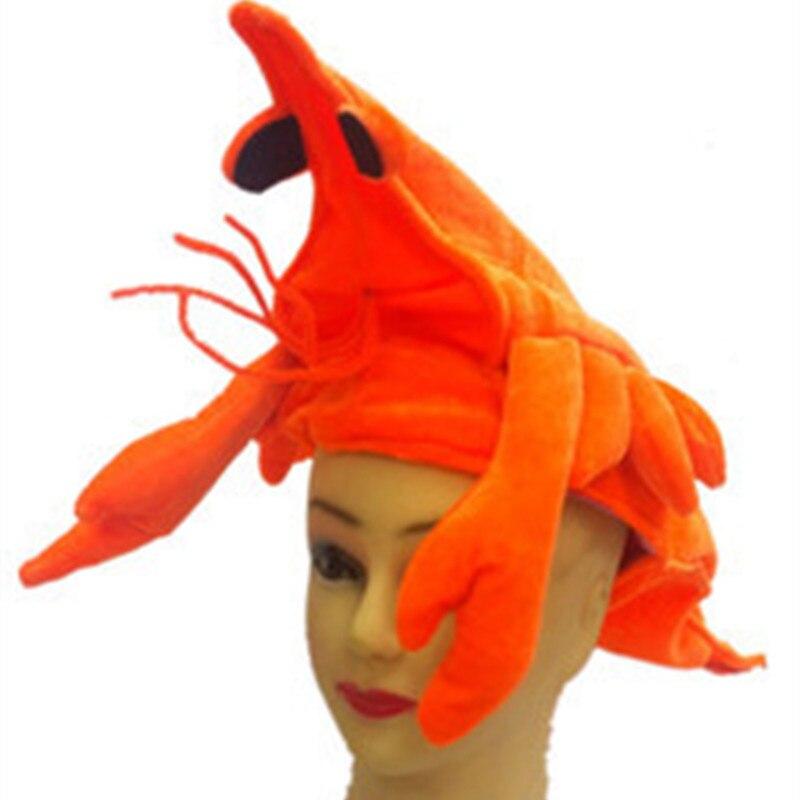 New Animals Shark lobster octopus Plush Knitting Cotton Hats Fish Nemo  Cosplay Warm Hat Halloween Party 7c3de197f3e4