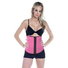 fajas fajas reductoras latex Waist Trainer corset women Cummerbunds belts for body shaping Slimming Girdles