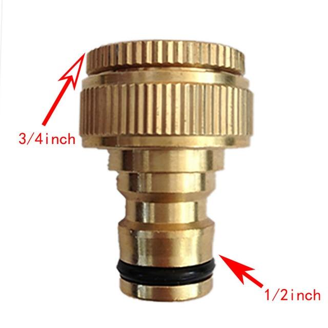 2 Stucke 1 2 3 4 Schlauch Reiner Messing Armaturen Standard