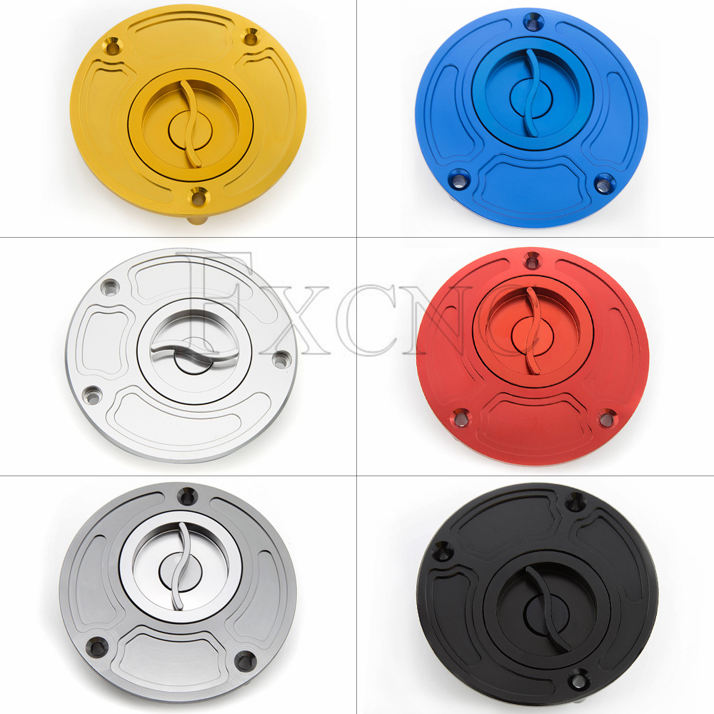 105mm CNC Aluminum Motorcycle Fuel Tank Cap Gas Cap Cover Keyless For Yamaha YZF1000 <font><b>R1</b></font> 1998 - <font><b>2019</b></font> 1999 2000 2018 2017 2016 image