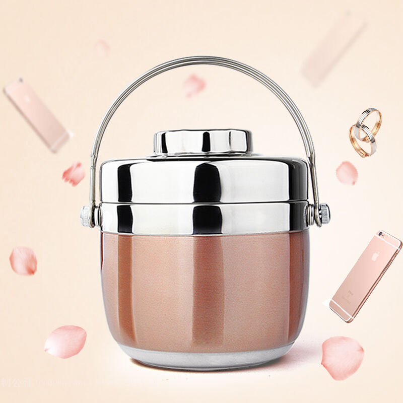 Portable Stainless Steel Thermal Insulation Japanese Bento Box Food Fruit Container Storage Lunch Box For Children