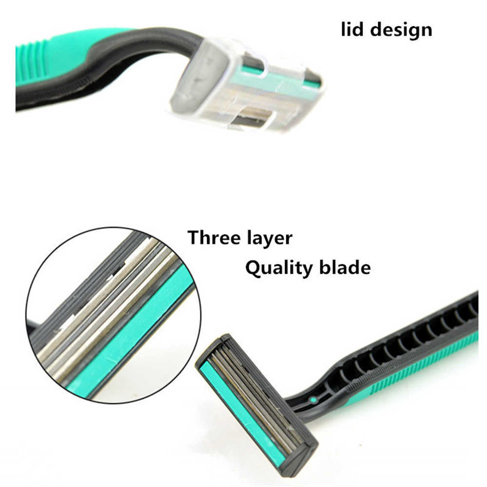 Discounted old manual shaver Safety razor Super Quality Men razor beard trimmer 4Pcs/Pack Hair removal tools