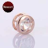 Supplies For Jewelry Wholesale 20Pcs Gold Silver Rose Gold Black Round 8Mm Seed Spacer Bead Crystal Beads For Jewelry Making