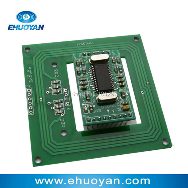 13.56Mhz  Rfid Reader Writer Module  UART  3-5V YHY502CG /antenna YHY1356T + SDK+2 Tags
