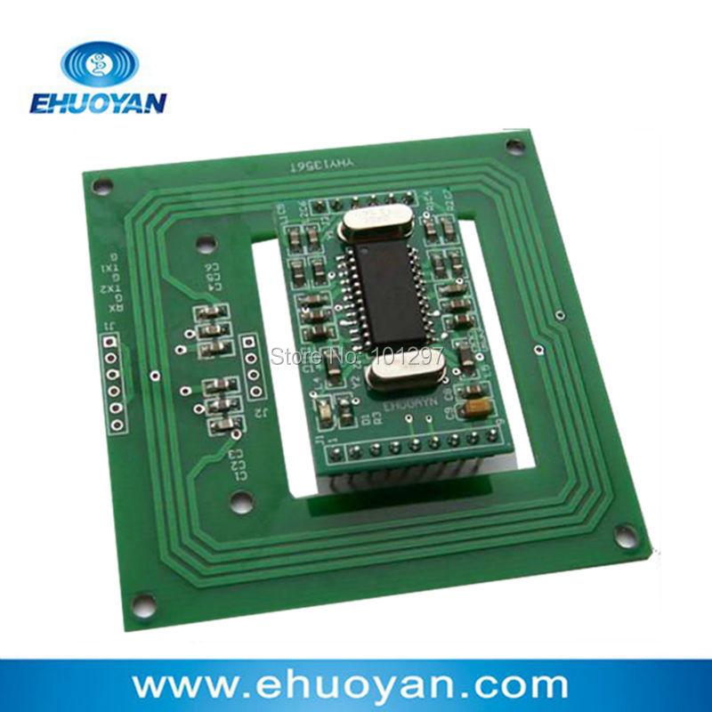 13.56Mhz  Rfid Reader Writer module  UART  3-5V YHY502CG /antenna YHY1356T + SDK+3 Tags rfid reader module rdm6300 rf module 125khz reader uart serial output
