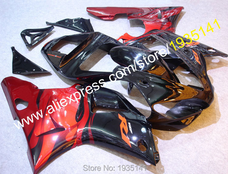 Hot Sales,Cowling For Yamaha YZF1000 R1 2000 2001 YZF R1 YZF-R1 YZF R1 motorbike aftermarket kit Fairing set (Injection molding)