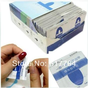 Wholesale 200pcs/Pack UV gel Nail Polish Wipes with Environmental Protection Remover Pads for UV Discharge Tool image