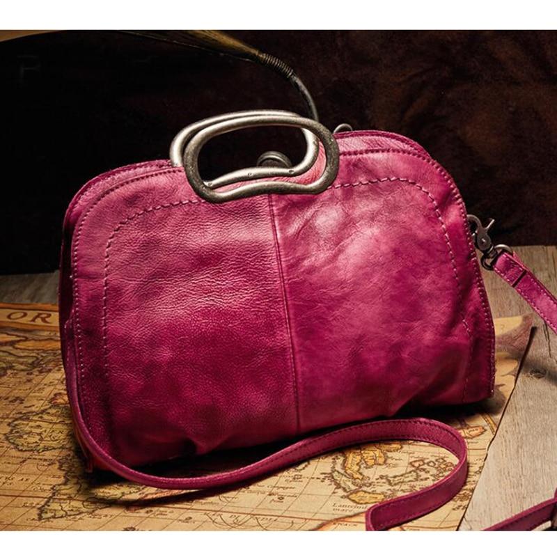 все цены на Luxury Handbags Women Bags Designer 100% Genuine Leather Handbags Shoulder Bag Female Crossbody Messenger Bag Main Female Bags онлайн