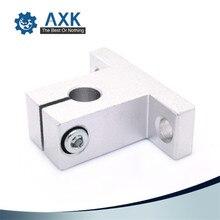 4pcs/lot SK8 SK10 SK12 SK16 SK20 SK25 SK30 SK35 8mm linear bearing rail shaft support XYZ Table CNC Router SH8A 3D printer Part
