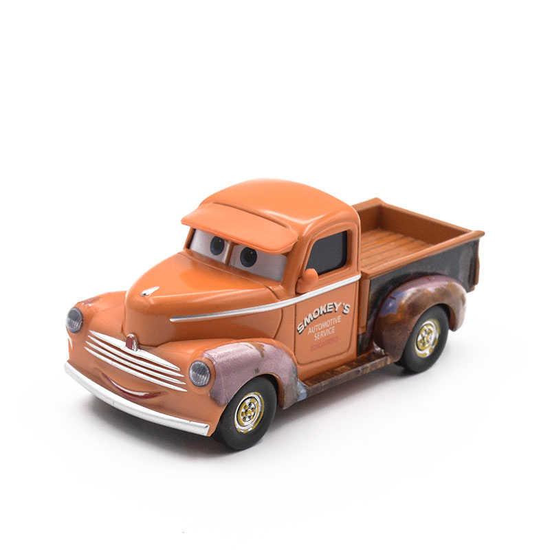 Disney Pixar Cars 3 Tutor Smokey Car Toy Lighting Mcqueen 19