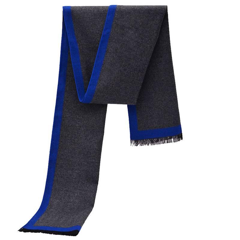 New Striped Business Scarfs Men Winter Thick Cashmere Scarf Luxury Brand font b Tartan b font