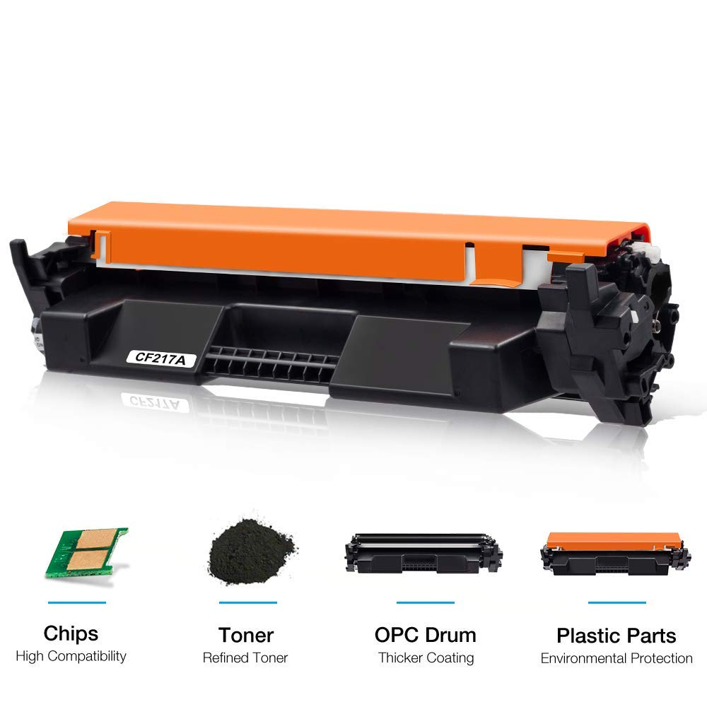 Chip CF217A 17A Toner Cartridge For HP Laserjet M102w M102 M130fn M130fw M130nw
