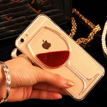 Red Wine Glass Liquid Phone Case iPhone 4 4S 5 5S 5C 6 6S 7 Plus